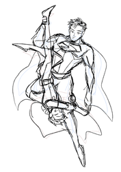 Uncle kent and Dick grayson by BAK-Hanul