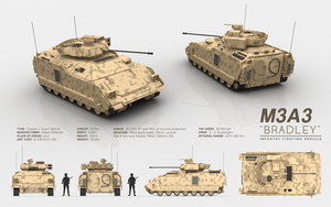 M3A3 BRADLEY - Infantry Fighting Vehicle by cr8g