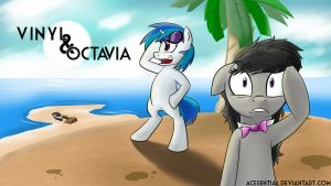 Vinyl and Octavia: Island Mishap by Acesential