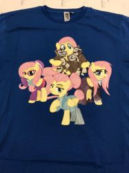SeverShy, FlutterGoth or HipsterShy Tshirt by ramivic