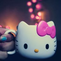 Pink Hello Kitty Bokeh by CrazyKcee