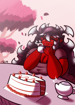 Cake and Tea Time by TheEnglishGent