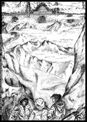 The fortress in ice: an unpublished art from B.III by middaschronicles