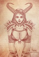 Demoness by SuperEdco