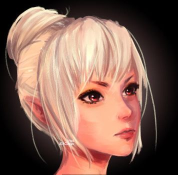 [Blade and Soul] Kun portrait by elicottyn