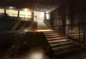 Stairway by eWKn