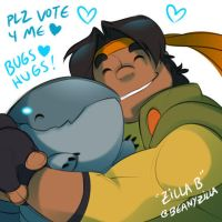 Vote for Baby Pillbug! He's made it to Round 3! :D by zillabean