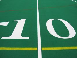 10 yard line by bluewave-stock