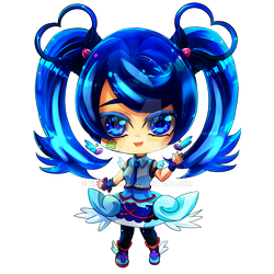 Blue Angel [Commission] by Rinnn-Crft