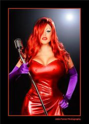 Jessica Rabbit-Lauren by Laurenlangley
