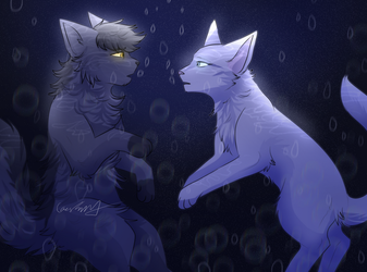 YOU'D SCREAM, I'D FIGHT AWAY ALLLL OF YOUR FEARS by CascadingSerenity