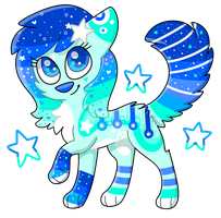 Sparkly Stars .:OTA:. CLOSED by RoseyWingedCat