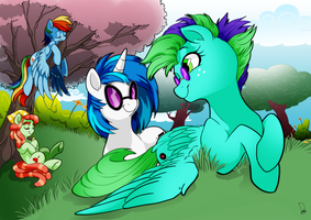 commission for greenlips by Dormin-Kanna