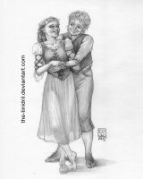 Samwise and Rosie - 17-DrawEverythingJune2 by The-Tinidril