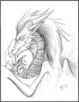 Good Dragon by Steff-Magalhaes