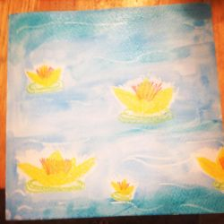 Water Lily Project by AbbyCatWolff
