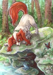 ACEO Forest Adventure by Sysirauta