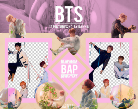 Pack Png 1214 // BTS (LY - Answer) E ver by BEAPANDA