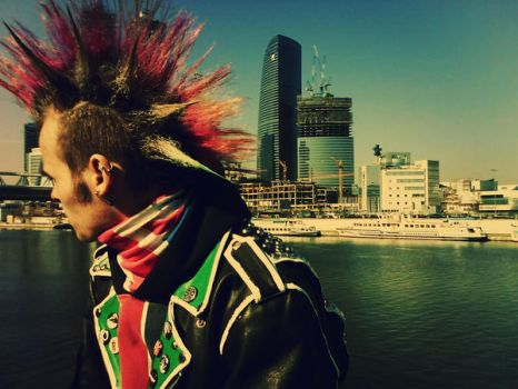 Severe punk by CandySlaughter