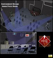 Stage Select - Junon Base Press Room by BusterMachineArts