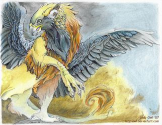 King of Beast and Sky by Lady-Owl