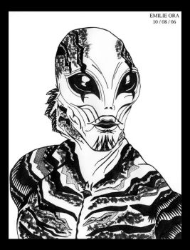 Abe Sapien by Falang