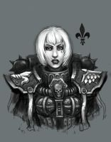 Warhammer Sister of Battle by ReddNekk