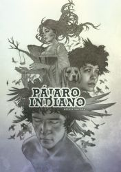 PAJARO INDIANO Cover Book Illustration by Chiisa