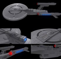 Star Trek Monarch Class wip2 by AdamKop