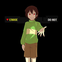 Undertale - Chara by SpitLeon