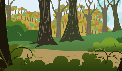 Forest Background by Turbo740