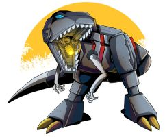 Commission - Grimlock by MachSabre