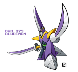 BLADEMAN by EAMZE