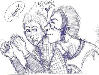 Chris and Marcus - SMEUCH by skeletal-dee