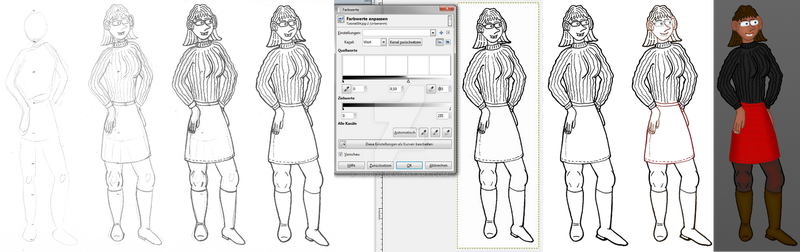 How I draw my pictures by hippo2