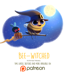 Day 1431. Bee-Witched by Cryptid-Creations