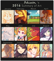 2016 Summary! by adirosa