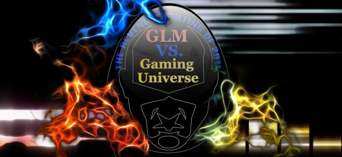 GLM VS. Gaming Logo by TheRedCrown