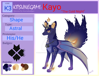 Kitsunegami ID  Kayo, The cold night by HeartStorm4ever