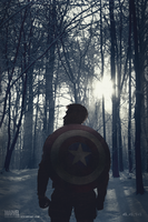 Captain America: Winter Soldier | Poster by Squiddytron