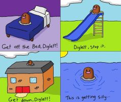 Darn you, Diglett.