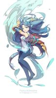 puzzle and dragons - karin (Modify) by nnnnoooo007