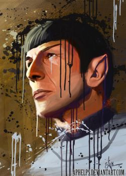 Our Beloved Spock by Aphelps