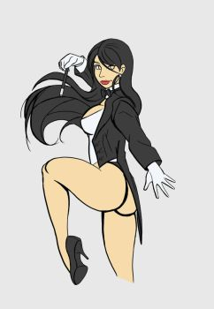 Zatanna by Dragonsmasher