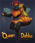 Make Way for Queen Dahlia by BiccaBee