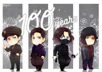 Bucky's 100 years by GYRHS