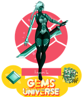 [GemsU] Amazonite 2.0 by Seni-Ines