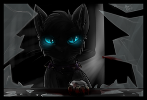 Scourge | Cold Stare by BluElixir