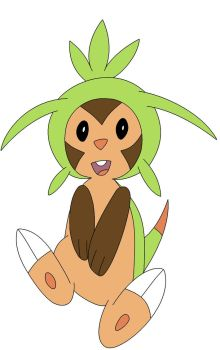 Chespin, I choose you! by DigitClamFan