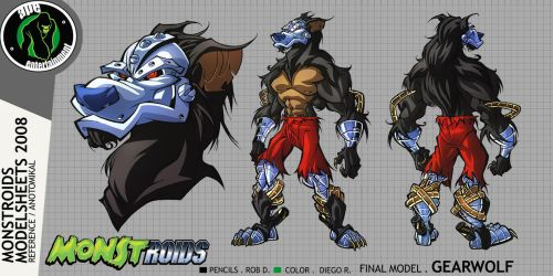 Monstroids Modelsheet 06 by RobDuenas
